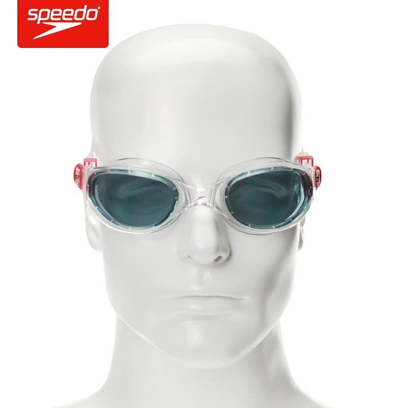 a2cb5248188 2019 Speedo Swimming Goggles Waterproof Anti Fog UV Soft Framework  Ajustable Swimming Glasses For Men   Women C18112201 From Shen8402