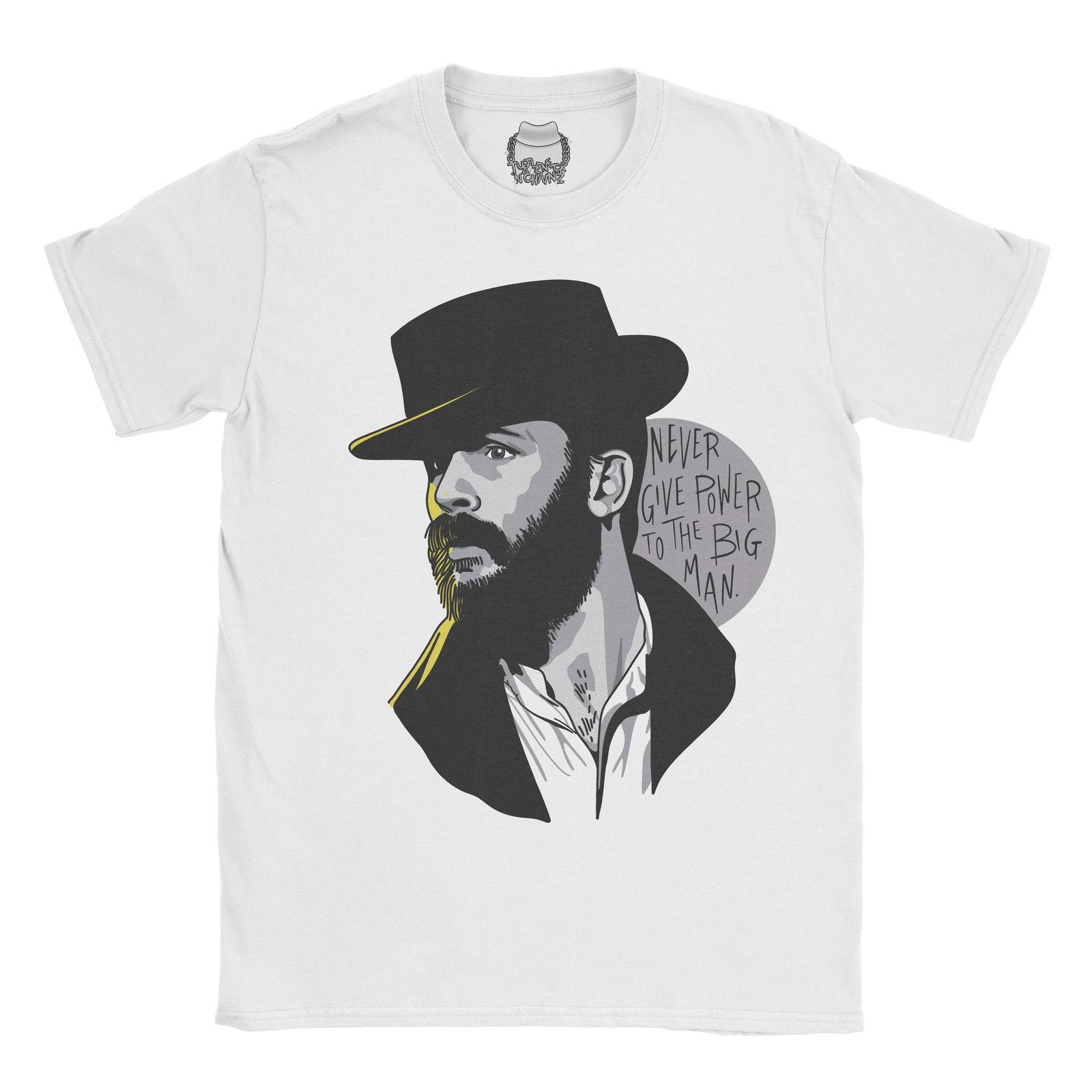 Peaky Blinders T-shirt Alfie Solomons Fan de la BBC Tom Hardy Top Tee Hommes Vêtements unisexe en denim camiseta t-shirt coupe-vent cattt