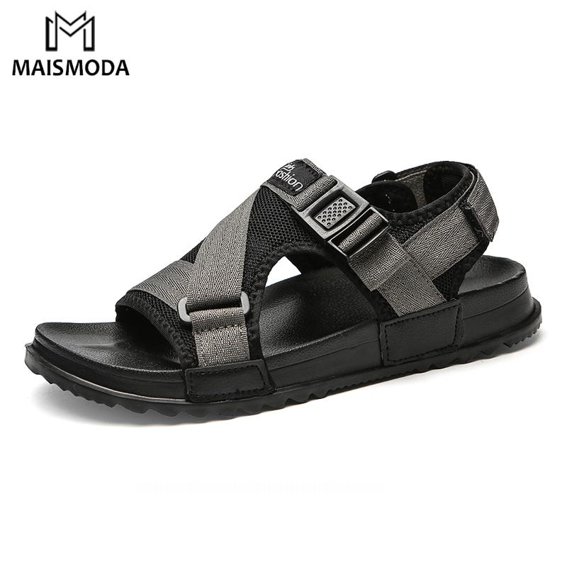 MAISMODA 2018 Fashion Summer Men Sandals Flat Soft Hard Wearing Flip Flops  Beach Shoes Comfortable Outdoor Slippers YL492 High Heels Heels From  Clownie 44e4d1a67a85