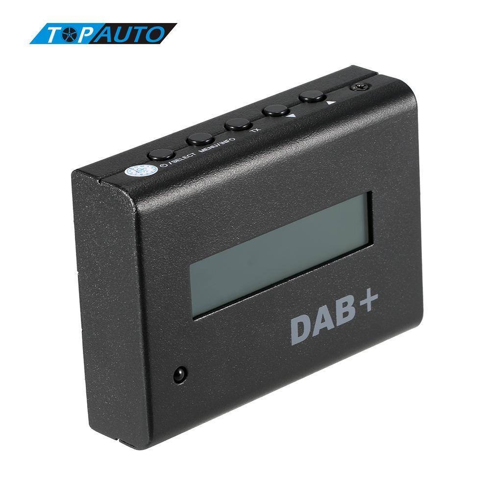 Freeshipping Universal 12V Car Digital Radio DAB+ Audio Receiver Kit with Car Charger / Remote Control / Antenna