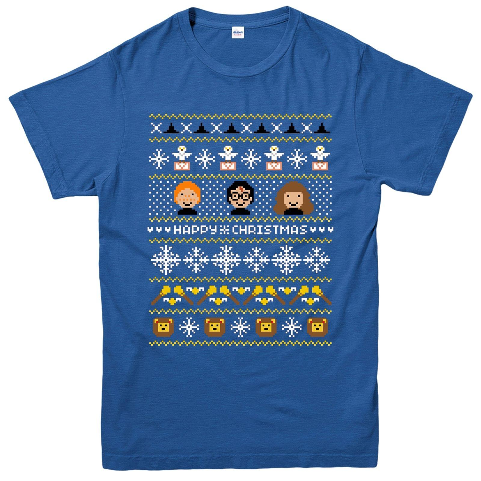 Harry Potter Christmas Shirt.Details Zu Harry Potter Christmas T Shirt Hermione Ron Xmas Festive Adult Kids Tee Top Funny Free Shipping Unisex