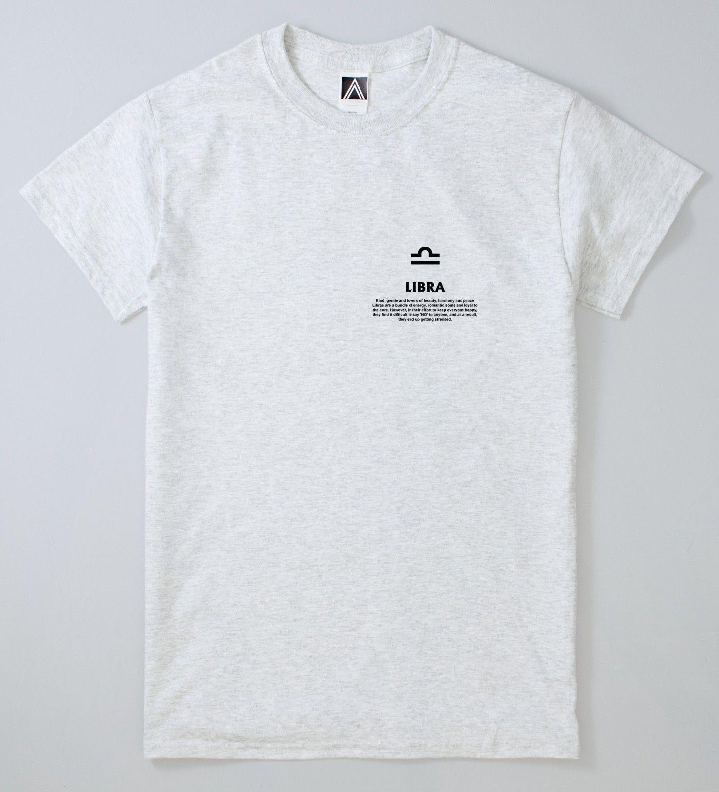 a2ac8f7d Libra T Shirt Zodiac September Magic Tee Horoscope Astrology Tarot Cards  Top Classic Quality High T Shirt Jersey Print T Shirt Cool Sweatshirts  Online ...