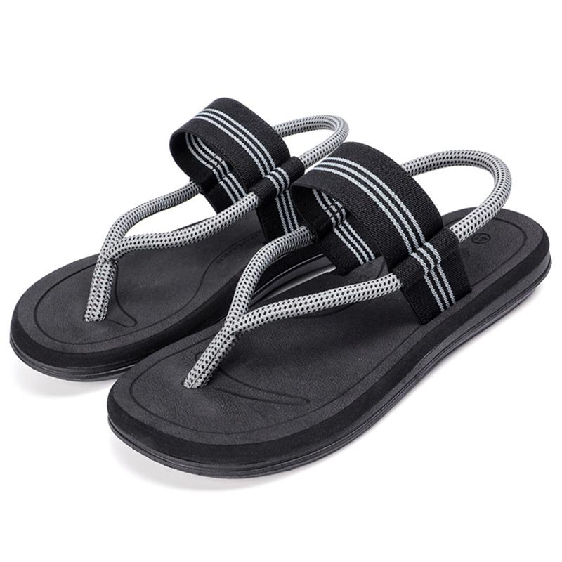a3c7b6b35a23 2019 Fashion Men Summer Sandals Beach Outdoor Shoes Male Causal Mesh Flip  Flops Causal Antislip Hiking Men S Sandals Size 36 45 Blue Shoes Cheap  Sandals ...