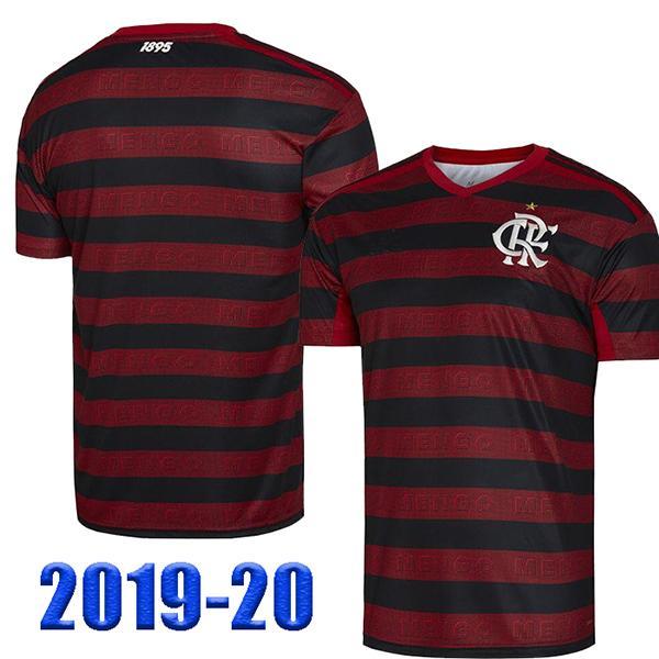 cheaper c9db9 3d805 CR Flamengo 2019 2020 soccer jersey Flamenco away white Camisa de futebol  GUERRERO DIEGO 19 20 maillot de foot