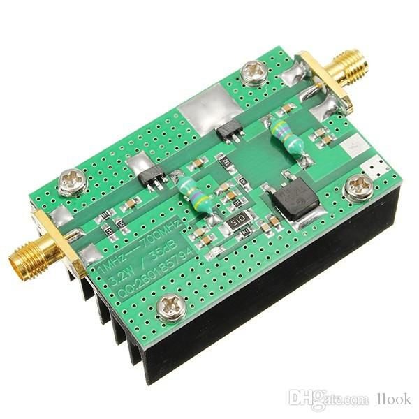 Freeshipping 1PC 1MHz-700MHZ 3 2W HF VHF UHF RF Power Amplifier For Ham  Radio Module New Wholesale