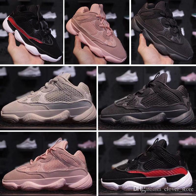 sale retailer d6b45 9518e Compre Adidas Yeezy Boot 350 Diseñador De Marca De Zapatos Para Niños  Zapatillas De Correr Para Bebés Y Niños Pequeños Kanye West YZ 500 Zapatos  Para Correr ...