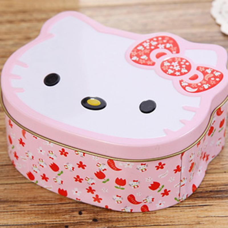 719a359a8 2019 Cartoon Hello Kitty Mini Tin Metal Box Sealed Jar Candy Boxes Jewelry  Storage Box Coin Earrings Headphones Gift YYJ0 From Dalihua, $33.67 |  DHgate.Com