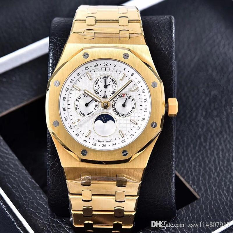 01e77f5f78b AAA Luxury Watches Men Luxury Brand Automatic Machinery Watches 41mm  Multifunctional Automatic Men Watch Watches For Sale Online Watches Sale  Online From ...
