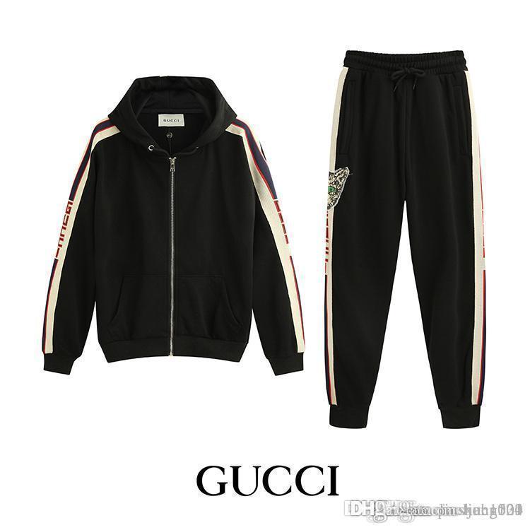 dd639d57 2018 Fashion Men Sportswear Suit Baseball Jacket Men And Women ...