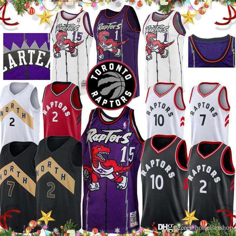 2019 Vince Carter 15 Raptors Jersey Toronto Basketball City Edition Tracy 1  McGrady Kyle 7 Lowry Retro Kawhi 2 Leonard Demar 10 DeRozan Top Saled From  ... 0445c54bb