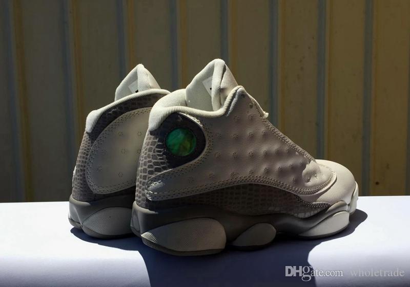 782e163507c36d Retro Mens 13 Phantom White Grey Basketball Shoes 13s XIII Phantom ...