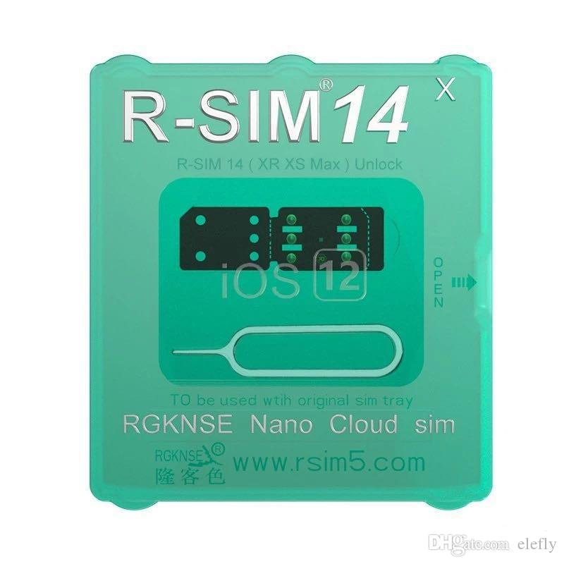 Original and brand new RSIM14 RSIM 14 unlocking card for iphone compatible with ALL IOS and model with free Shipping
