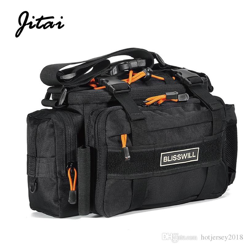 a272d0601fe6 2019 JITAI 2000D Portable Fishing Bags Canta Fishing Tackle Storage Backpack  Water Resistant Multifunctional Shoulder Waist Hand Bag  191867 From ...