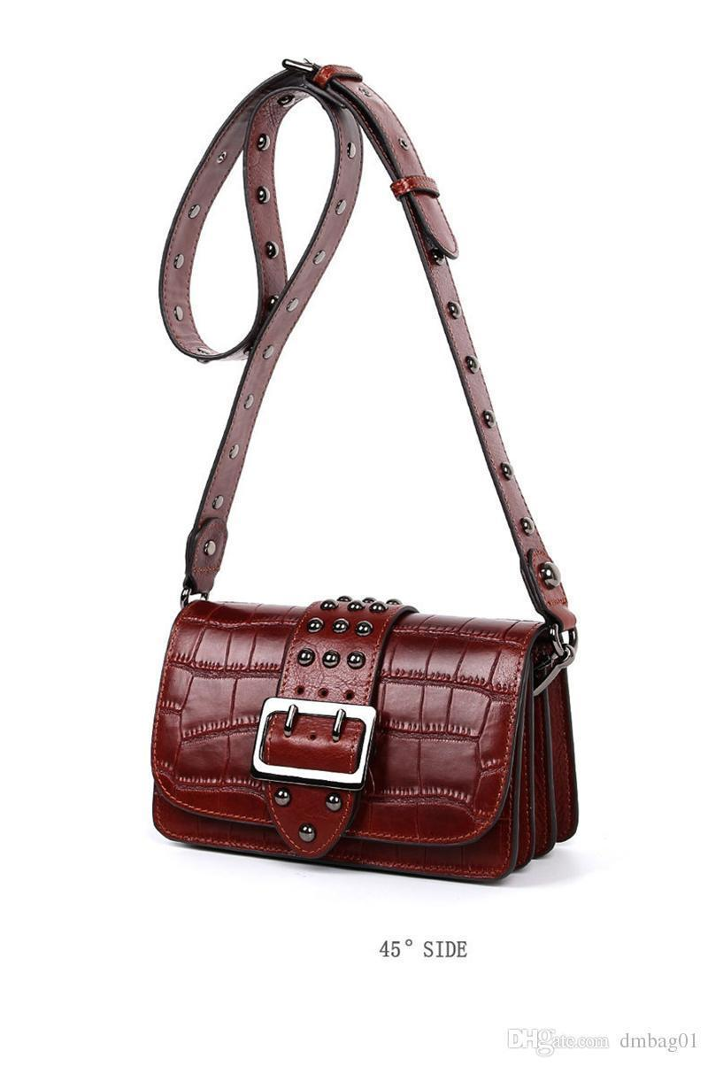 f8a7962e187e Sugao Pop Style Bag Luxury Handbags Designer Belt Bags Chain Messenger  Shoulder Bags Pocket Top Genuine Leather Purses Bag Vintage Bag Mens  Leather Bags ...