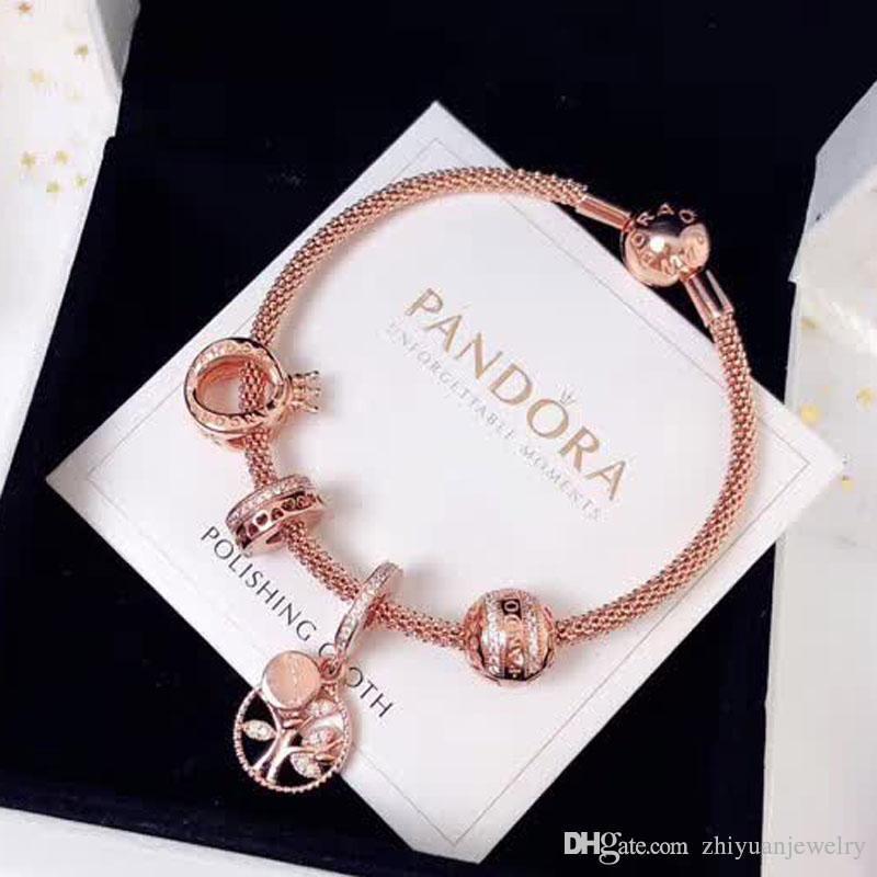 b6a85d7f446fd Family Tree Bracelet Rose Gold - Fxund.us