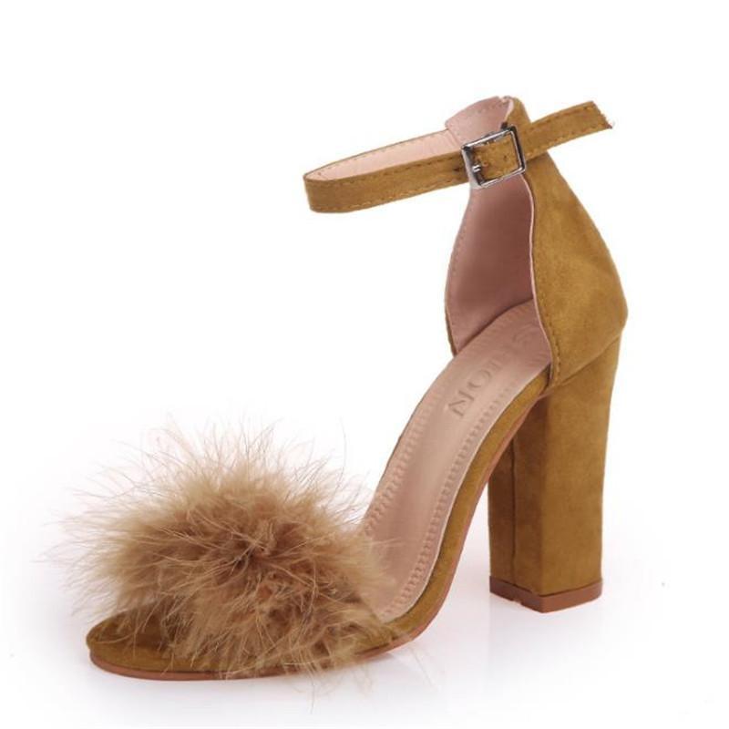 7500c9c2c61 Shoes 2019 Summer Women Slides Cozy Sandals Women Simple Black Ankle Strap  Open Toe Sandal Formal Female High Heels Mujer S01 Mens Leather Boots Mens  Shoes ...