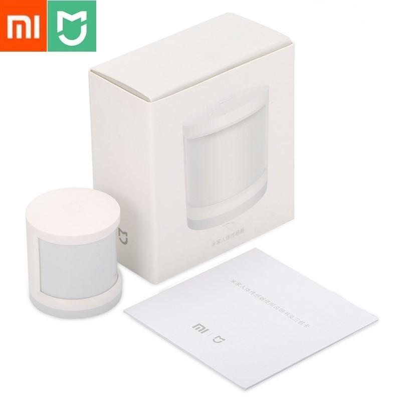 Xiaomi MIJIA Aqara Human Body Sensor Mi Motion Sensor ZigBee Version Smart  Home Linkage for Mi Home APP Wireless Connection