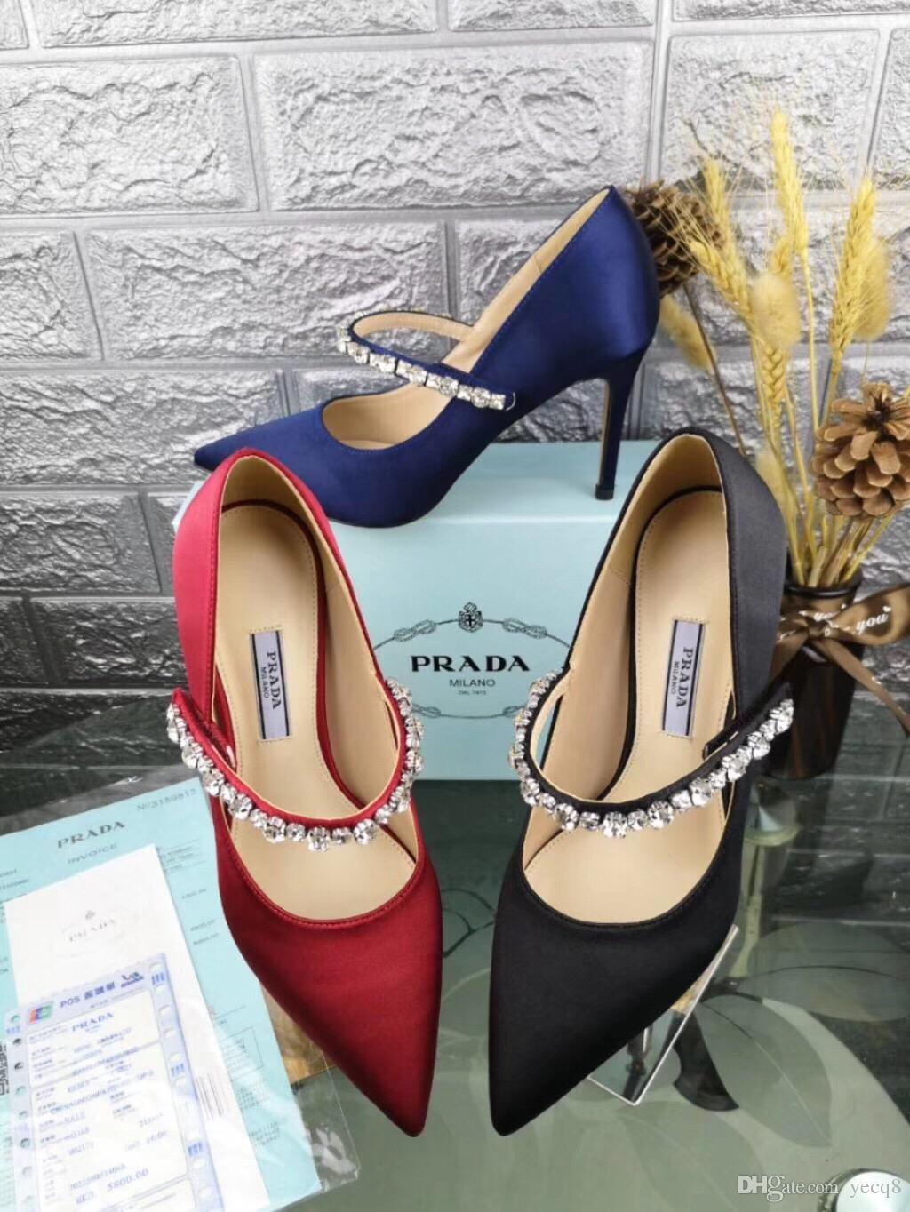 2a1fe8879f Compre Zapatos De Mujer Sexy Med Heels Bombas Sandalias Vestido De Fiesta  OL Pump Encantador Elegante Serpiente Impreso Cuero Mulas Zapatos A $74.43  Del ...