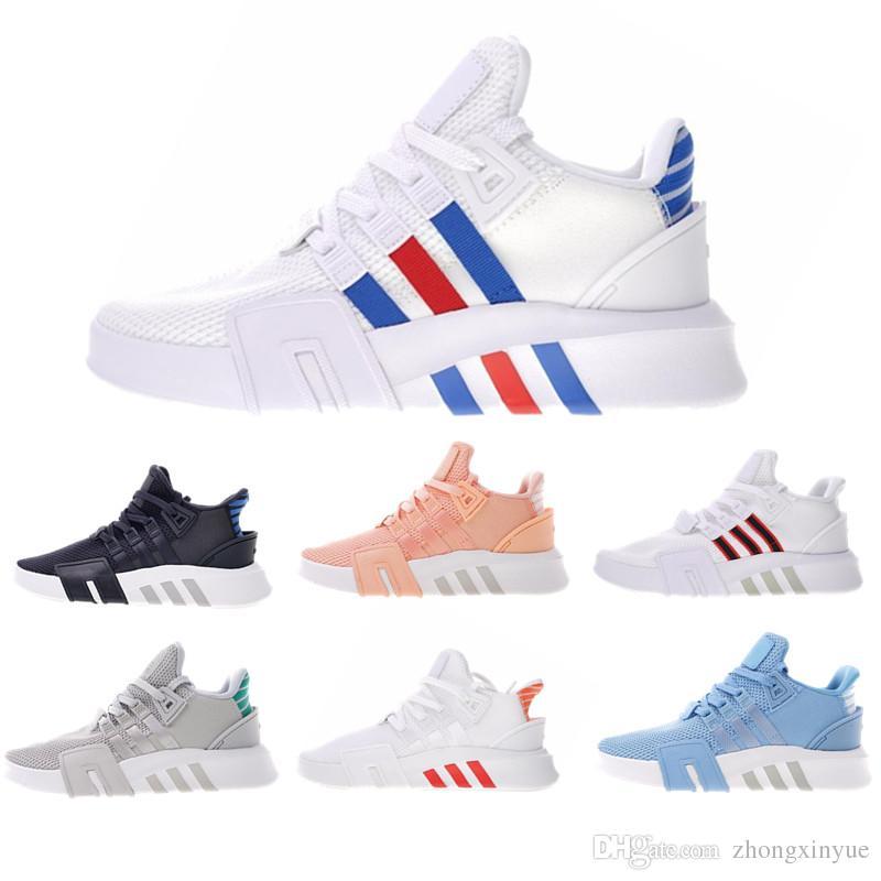 official photos 6232a 6d3cc Triple Black Triple White EQT Running Shoes Black Orange Grey Blue Red  White Dark Blue White Red Primeknit Fashion Casual Sports Sneakers