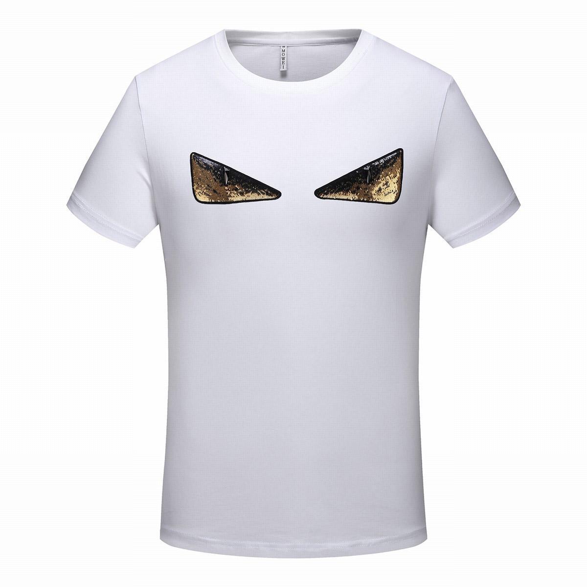 Printted Manga Corta Tops De Con Verano T Shirt Hombre Ropa Moda 2019 Diseñador Letras Medusa Para Hombres Animal Camiseta hxtQrsdC