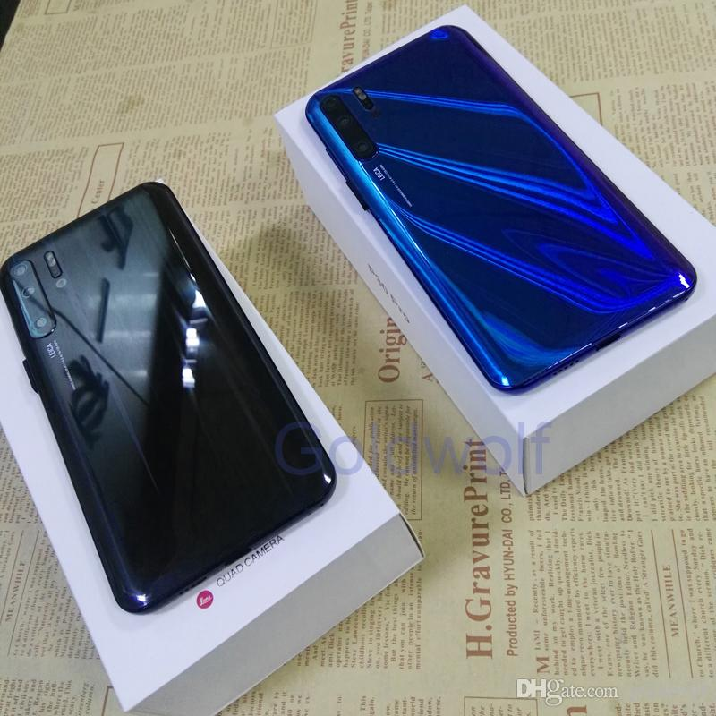 "Unlocked Cheap Goophone P30 Pro 6.5"" Android 9.0 Quad Camera Show 8GB 128GB Show 4G HD Camera 3G WCDMA Cell Phones"