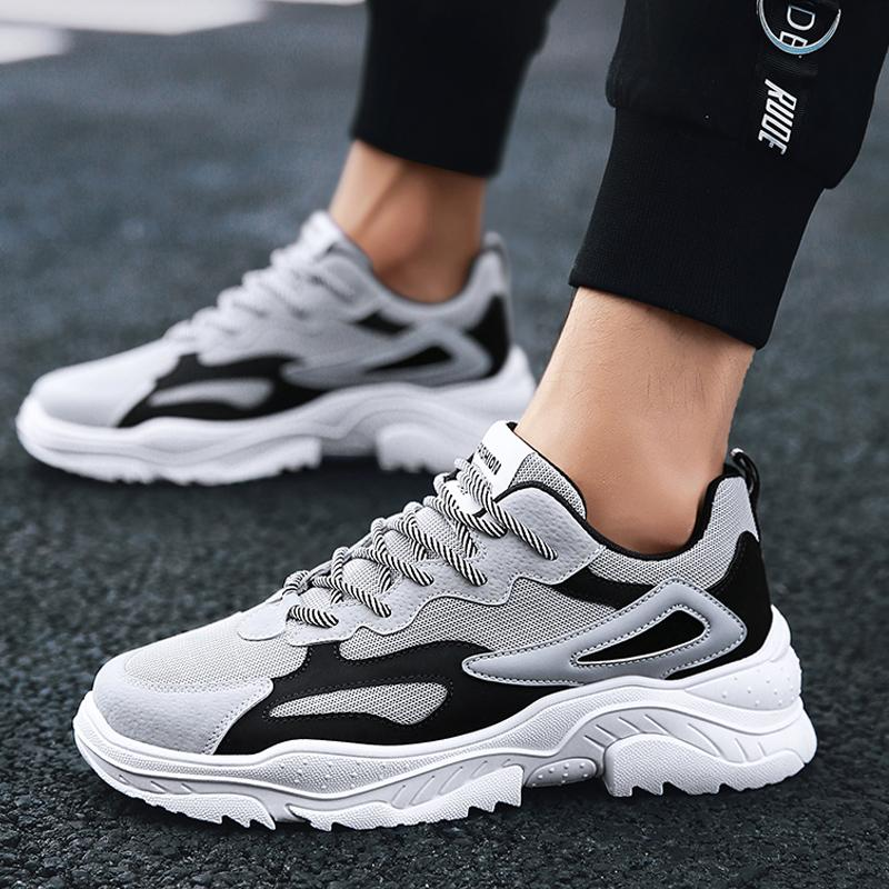 new concept 56037 c8674 UNN Male Running Shoes Triple Sneakers Triumph Street Race Runner DAD  Chunky Shoes Sport Men Thick Sole Jogging