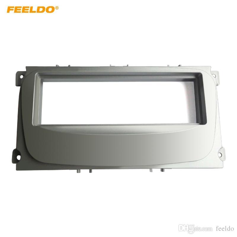 Feeldo Car Stereo Cd Radio Fascia Quadro Para Ford Focus Ii Mondeo S Max C Max Galaxy Ii Kuga Kit De Instalacao De Painel De Audio Kit De