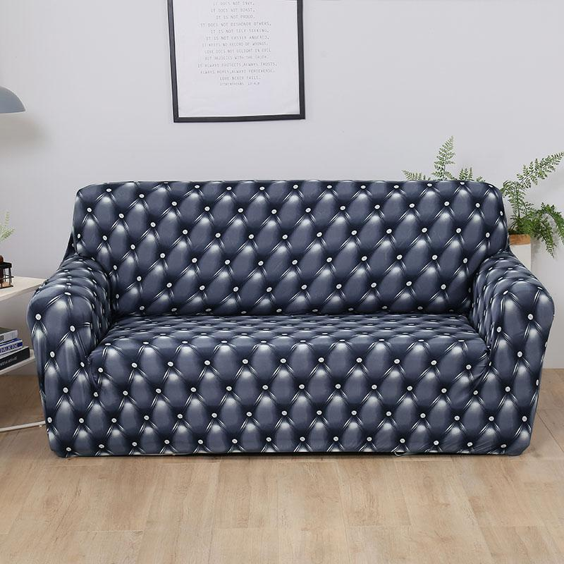 Popular Modern Printing Sofa Cover Anti Dirty Full Tight Wrap Couch Cover All Inclusive Furniture Covers Home Decoration
