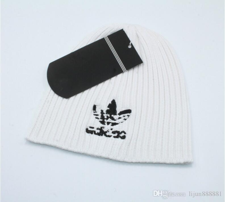 9cc9e0158 2019men women's winter beanie men hat casual knitted caps hats men sports  cap black grey white yellow hight quality skull caps