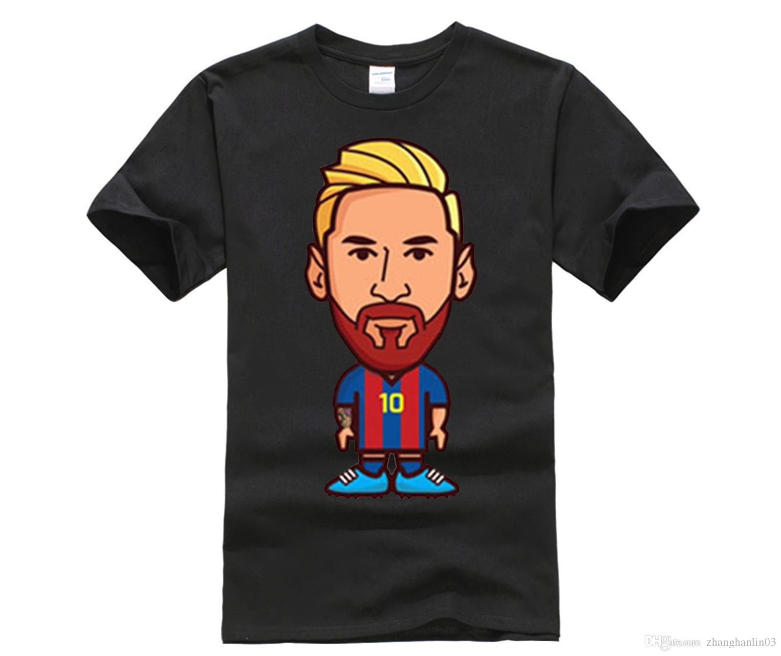 dfe32e6d38e Funny Men T Shirt Lionel Messi Neymar Camp Nou La Liga Champions For 100%  Cotton T Shirt Jersey Fans For Shirt Lovers Funny T Shirts Cheap As T Shirts  From ...