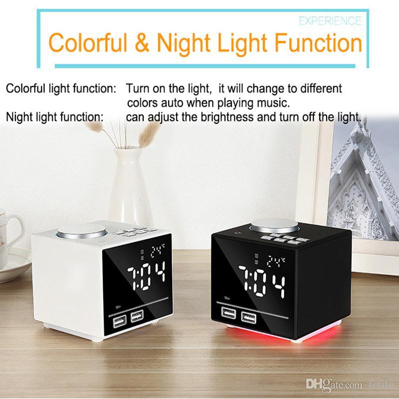 30eaa804374 2019 Alarm Clock Radio With Bluetooth Speaker