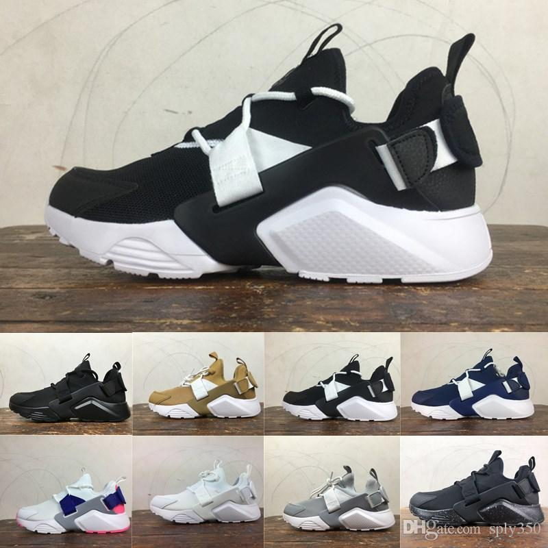 93a4fba62ee5 2019 New Huarache 5.0 Acronym City MID Leather Running Shoes Men High  Quality Air Huarache 6 Outdoors Sports Fashion Shoes Cheap 36 44 Canada 2019  From ...