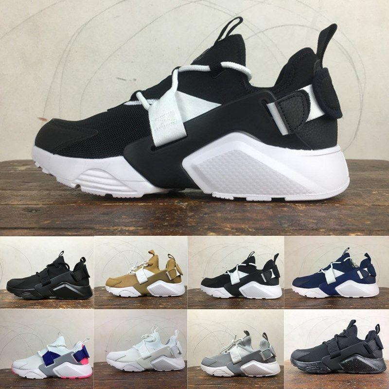 b868e108 Compre Nike Air Huarache 5.0 2019 Nuevo Huarache 5.0 Acronym City MID  Leather Running Shoes Hombres Air Huarache De Alta Calidad 6 Zapatos  Deportivos De ...