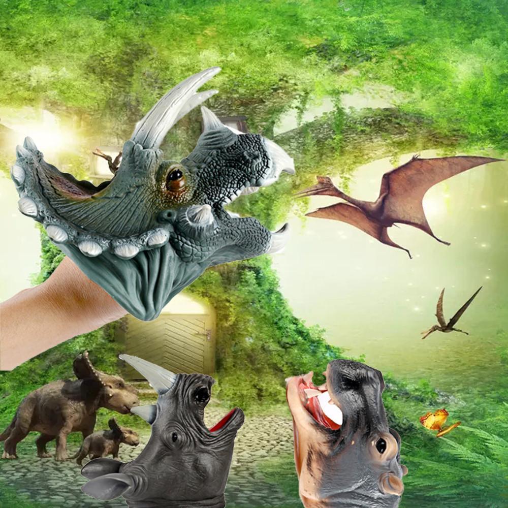 Acquista Burattini A Forma Di Dinosauro Giochi Di Ruolo Realistico