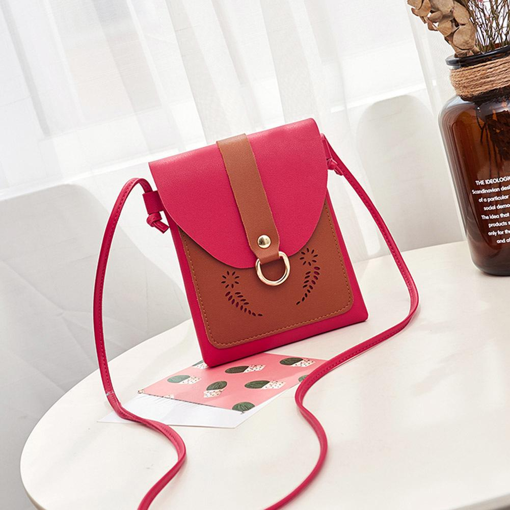 881f91bddd1 Women Crossbody Bags Mini Hollow Flower Messenger Bags Pu Leather Cute  Phonebag Good Quality Rosetti Handbags Name Brand Purses From Hopemoney03