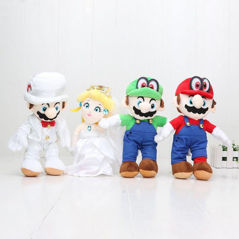 Acquista 25cm Classic Game Super Mario Odyssey Giocattoli Di Peluche  Bambola Di Pezza Principessa Abito Da Sposa Da Sposa Bambola Anime Morbide  Regali Di ... 09e904877ad4