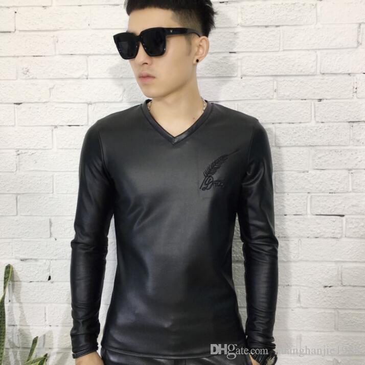 ade30bb488e Cheap Mens Black White Polka Dot Shirt Best Mens Transparent Shirts