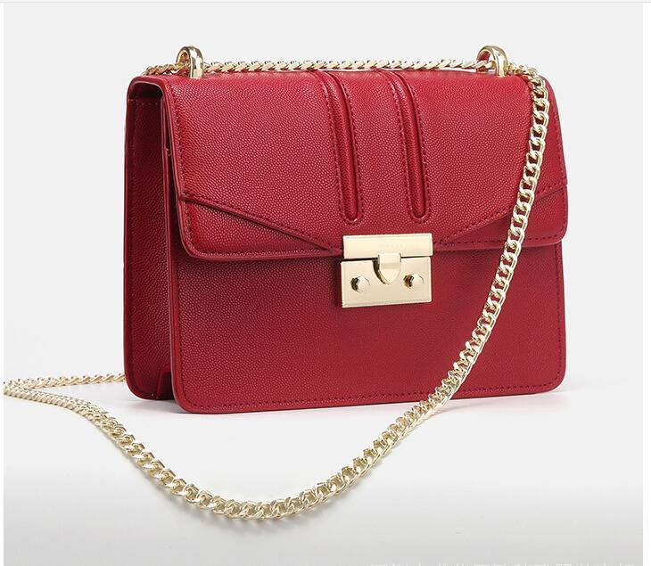 2019 nouveau sac à main designer couleur unie sac à main rétro chaîne sac à bandoulière designer de la marque sac de messager un sac principal