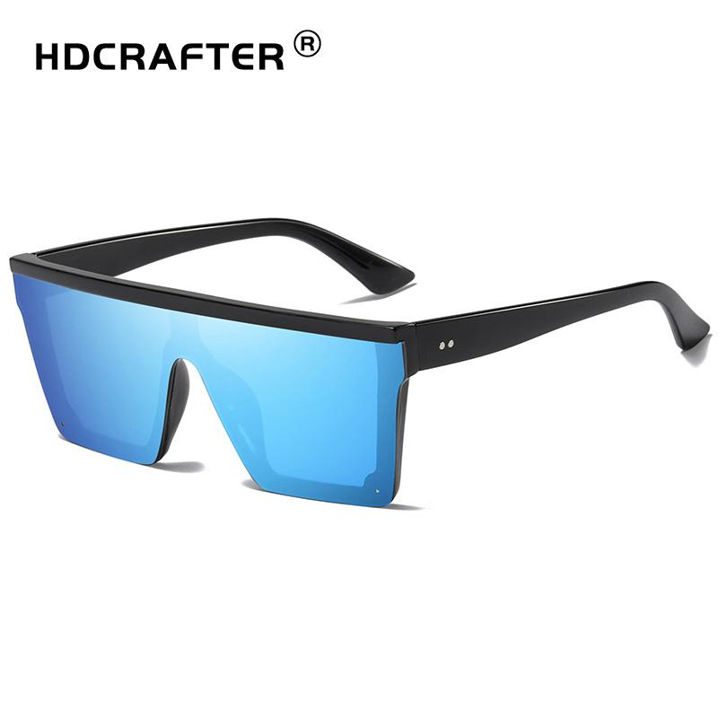ee00df6c489 HDCRAFTER Brand Fashion Sunglasses Men Driving Sun Glasses Square ...