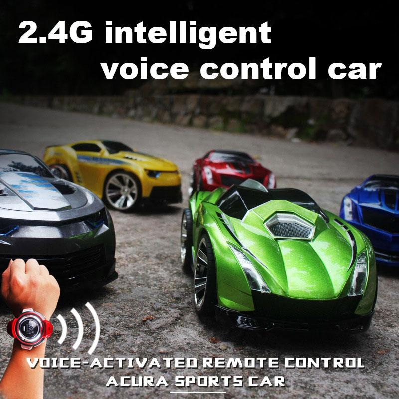 faa25219b70 Voice Command Car With Smart Watch 2.4GHz Radio Control Voice Activated RC  Car Toys Gifts S7JN Cars Control Remote Vehicle Remote Control From  Zhoukougame