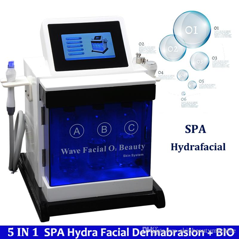 Hydra Dermabrasion Aqua Clean Machine Ultrasonic Facial Clean Remove Blackhead Bio Face Lifting Skin Tightening Spa Facial Treatment Machine