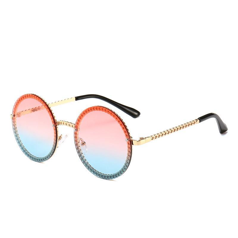fe632fe5805 2019 Hot Fashion Sunglasses Luxury Brand Vintage Round Glasses High Quality  UV Protection Stylish Eyewear Designer Popular Unisex Sunglasses Round  Glasses ...