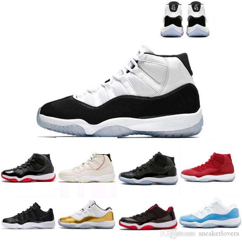 05fe3cd793d313 High Quality 11 Space Jam Bred 45 Concord Basketball Shoes Men Women 11s  Gym Red Midnight Navy Gamma Blue 72 10 Sneakers With Box 4e Basketball Shoes  ...