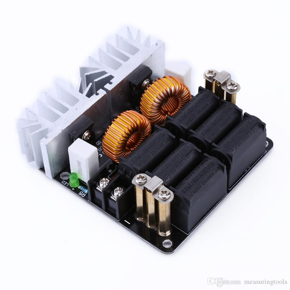 2019 1000w Zvs Low Voltage Induction Heating Board Module Tesla Voil Circuits Coil 12v 48v