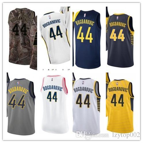 info for e828f aed92 2019 custom Men/WOMEN/youth Indiana Pacer jersey 44 Bojan Bogdanovic  basketball jerseys free ship size s-xxl message name number