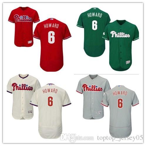 best cheap 2808a 11837 2018 Philadelphia Phillies Jerseys #6 Ryan Howard Jerseys  men#WOMEN#YOUTH#Men's Baseball Jersey Majestic Stitched Professional  sportswear
