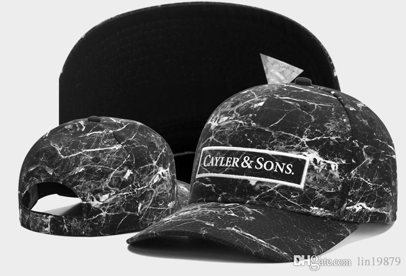 Cayler & Sons GALAXY strapback 6 panel Baseball Caps hip hop Sports Snapback hats toucas gorros chapeu bone Men Women new