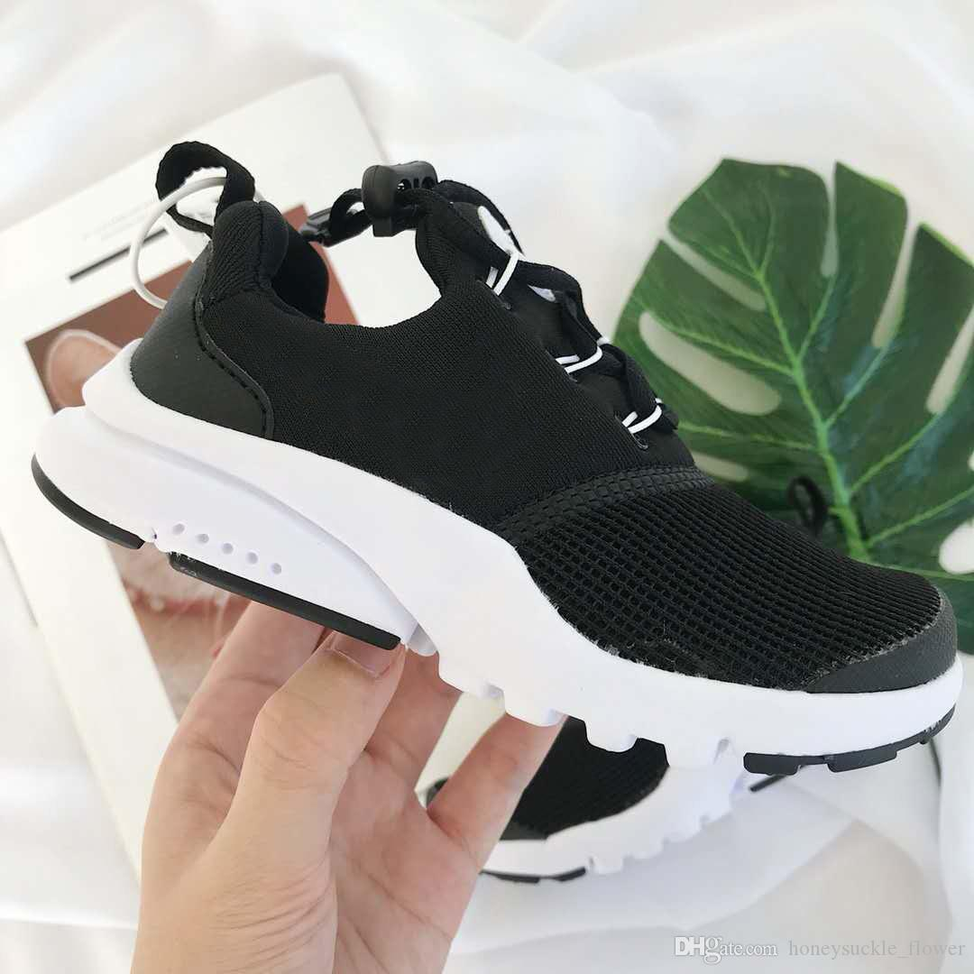 70eec9f8e098 Hot Sale Kids Presto BR QS Breathe Black White Yellow Red Children Shoes  Sneakers Baby Boy Prestos Toddler Running Tennis Shoes For Girls Sport Shoes  For ...