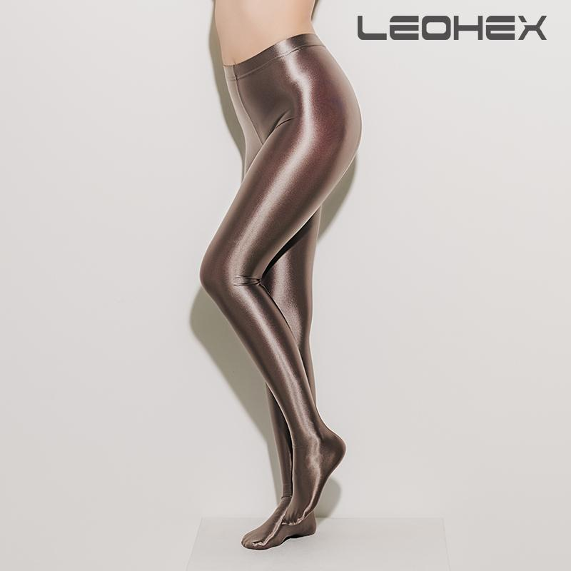 9d821a8a7a112 2019 Leohex Satin Glossy Opaque Pantyhose Shiny Wet Look Tights Sexy  Stockings Yoga Pants Leggings Sport Women Fitness C19041702 From Xiao0002,  ...
