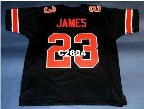 innovative design e0e39 21019 Men CUSTOM #23 LEBRON JAMES CUSTOM COLLEGE STYLE BLACK red College Jersey  size s-4XL or custom any name or number jersey